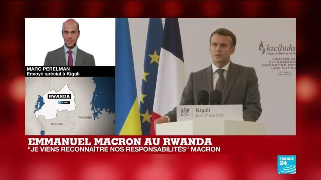 2021-05-27 12:01 Discours d'Emmanuel Macron : dernière étape avant la normalisation des relations France-Rwanda ?
