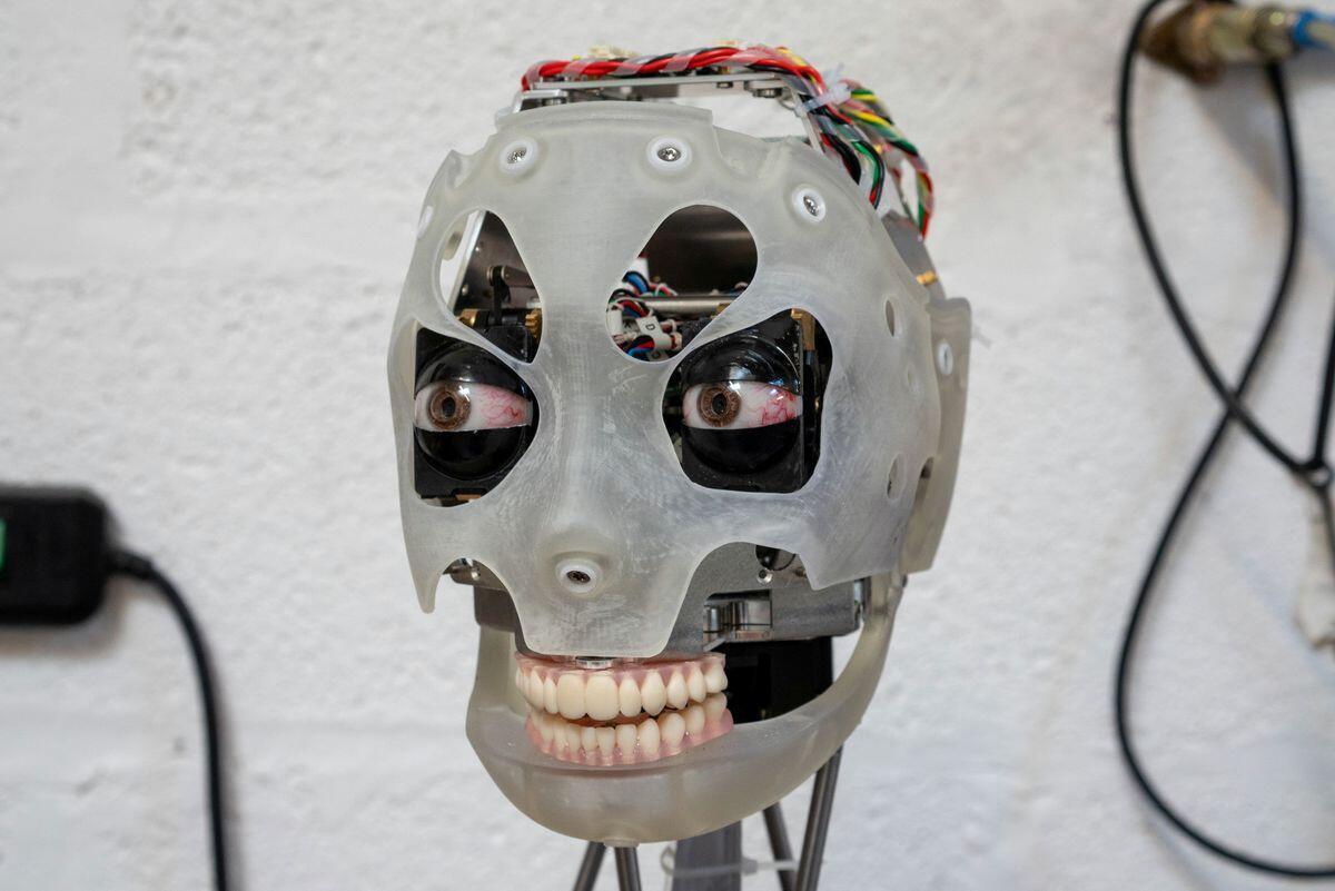 لماذا يحتار دماغ البشر عند النظر إلى عيني روبوت؟