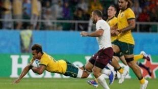L'Australie a arraché le bonus offensif dans les derniers instants.