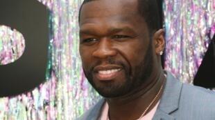Le rappeur et acteur américain 50 Cent à Los Angeles, le 2 juin 2019