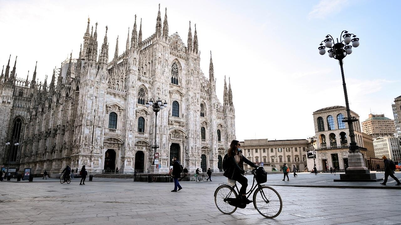 Italy announces five-day Covid-19 quarantine for EU arrivals over Easter