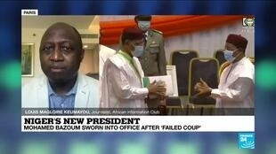 """2021-04-02 14:37 Niger's new president: """"There won't be any revolution in the way the country will be ruled"""""""