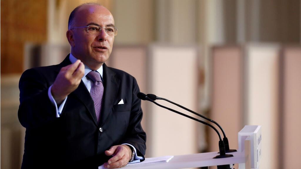 Le ministre de l'Intérieur Bernard Cazneuve lors de sa conférence de presse du 29 août 2016, à Paris.