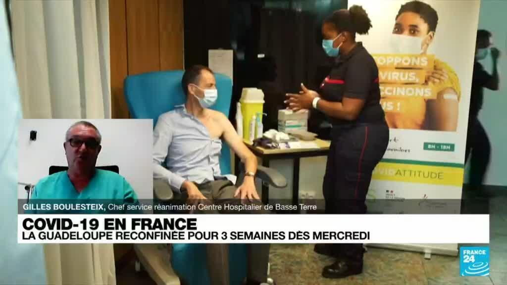 2021-08-03 20:07 Covid19 en France : la Guadeloupe reconfinée pour trois semaines dès mercredi