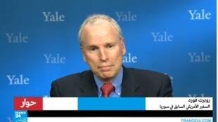 السفير الأمريكي السابق في سوريا روبرت فورد.