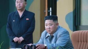 Le leader nord-coréen Kim Jong-un le 25 juillet 2019.