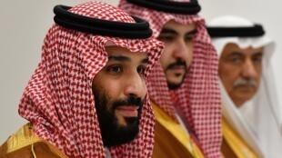 ولي العهد السعودي الأمير محمد بن سلمان. اليابان يونيو/حزيران 2019.