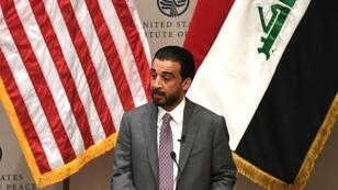 Iraqi Parliament Speaker Mohammed al-Halbusi, speaking in Washington at the US Institute of Peace, says his country will need three years before it can end its reliance on Iranian electricity