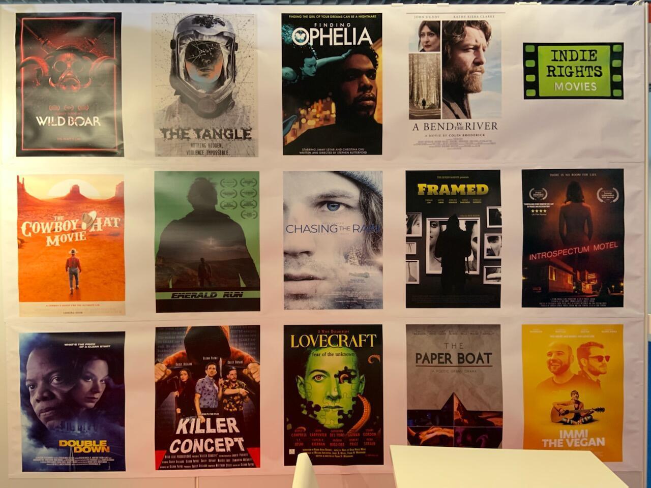 Une affiche du Marché du film de Cannes. Crédit : Benjamin Dodman / France 24