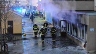 هجوم استهدف مسجدا وسط السويد