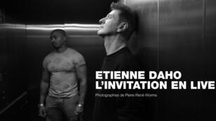 Le chanteur français Étienne Daho