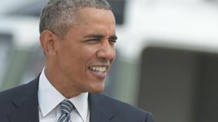رئيس الولايات المتحدة الأمريكية باراك أوباما