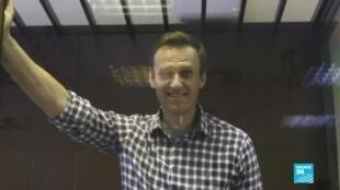 2021-02-20 18:07 Doble condena para Alexéi Navalny: difamación y violación de libertad condicional