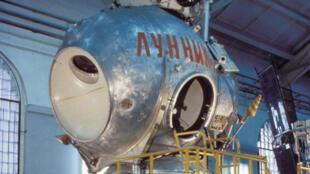 Le module lunaire soviétique en 1971.
