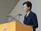 Hong Kong's Lam promises to 'immediately' start peace dialogue