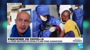 2020-05-22 09:10 Pandémie de Covid-19 : Quand la crise sanitaire s'ajoute à la crise humanitaire
