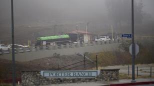 Le puits de méthane de la compagnie SoCalGas, situé à Porter Ranch, près de Los Angeles, fuit depuis le 23 octobre 2015.