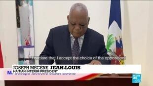 2021-02-08 16:05 Haitian opposition names judge as transitional president