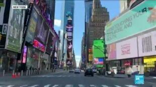 2020-03-25 11:09 Coronavirus cases continue to soar in New York