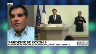 Interrogé par France 24, le président de Sanofi France, Olivier Bogillot, a annoncé que le laboratoire français disposait d'un stock de 350 000 boîtes de Nivaquine.