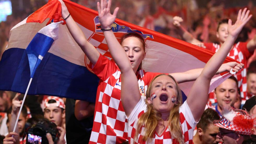 Croacia ganó 2-1 frente a Inglaterra en la semifinal de la Copa del Mundo Rusia 2018.