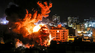Un raid israélien sur Gaza, le 25 mars 209.