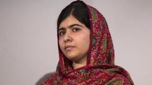 Malala avait été blessée à la tête en octobre 2012 sur le chemin de l'école.