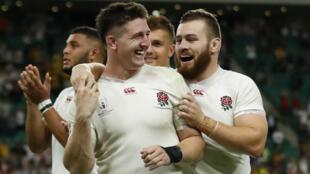 Les Anglais ont parfaitement maîtrisé leur quart de finale face à l'Australie.
