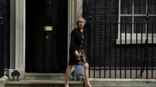 Theresa May, ministre de l'Intérieur et pilier des Tories, grande favorite pour le 10 Downing Street.