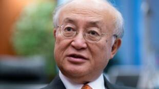الأمين العام للوكالة الدولية للطاقة الذرية يوكيا أمانو