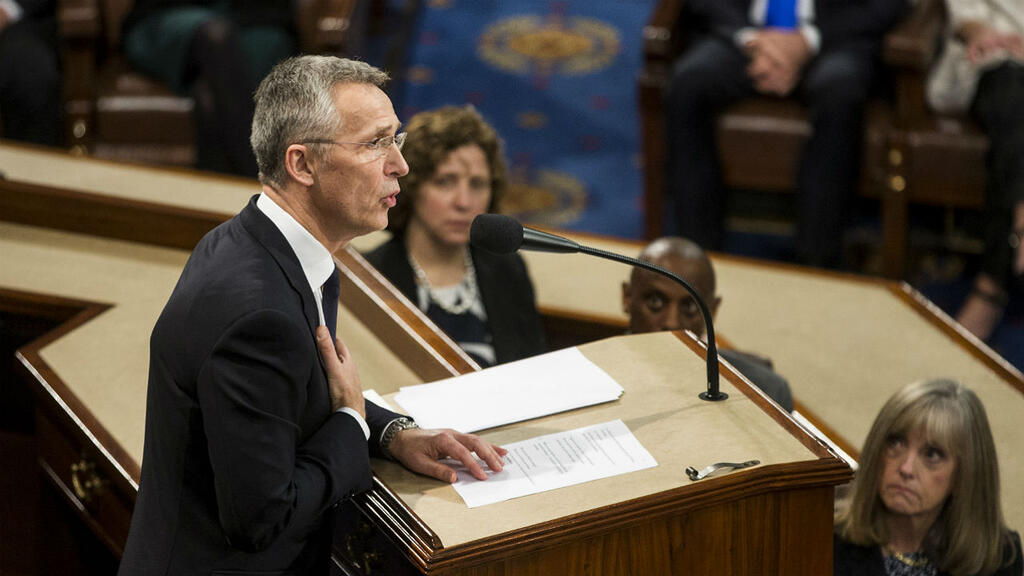 NATO chief warns US Congress of rising threat from Russia