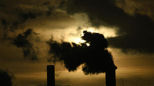 A coal power plant of German energy giant RWE in Weisweiler, western Germany, on January 29, 2020.