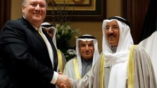 Top US diplomat Mike Pompeo launched his latest Middle East tour in Kuwait where he met Emir Sheikh Sabah al-Ahmad Al-Sabah