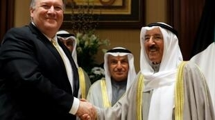 Top US diplomat Mike Pompeo launched his latest Middle East tour in Kuwait where he met Emir Sheikh Sabah al-Ahmad Al-Sabah