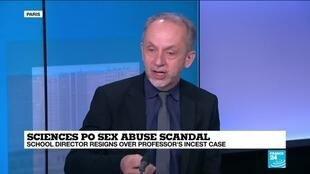 2021-02-11 14:11 Sciences Po sex abuse scandal: School director resigns over professor's incest case