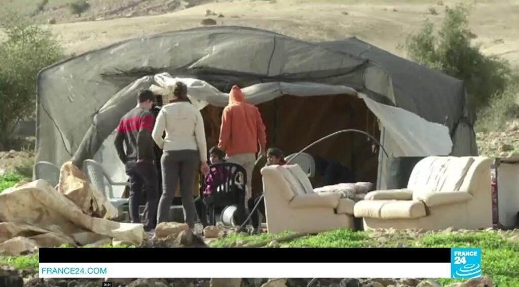 عشرة آلاف فلسطيني يعيشون في الأغوار غالبيتهم يسكنون بيوت الصفيح