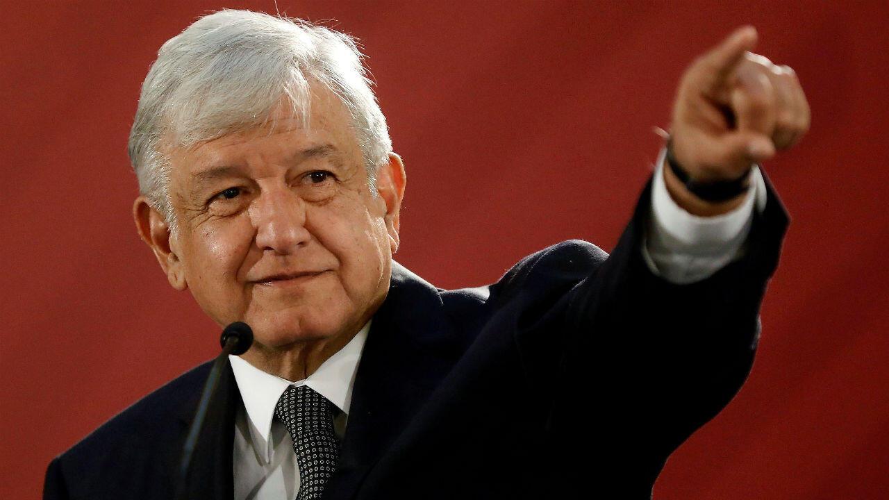 Imagen de archivo- El presidente de México, Andrés Manuel López Obrador, ofrece una rueda de prensa en el Palacio Nacional en la Ciudad de México, México, el 3 de diciembre de 2018.