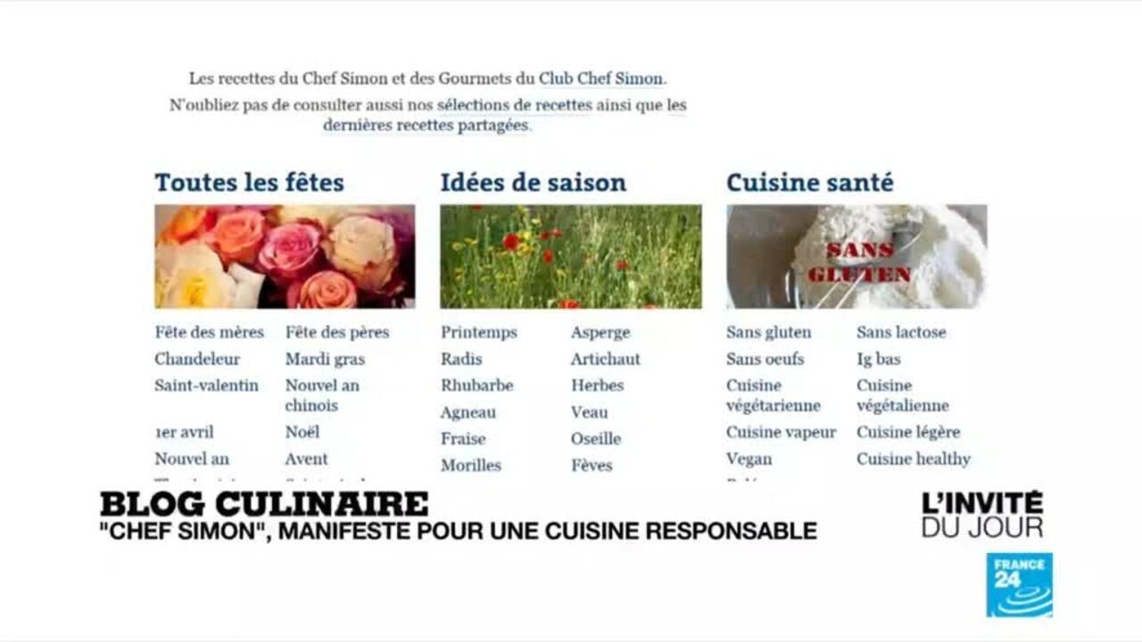 Chef Simon Ce N Est Plus Notre Corps Qui Décide De Ce Que L On Va Manger Mais Notre Cerveau Invité Du Jour
