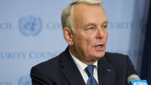 Le ministre français des Affaires étrangères, Jean-Marc Ayrault.