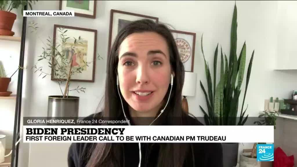 2021-01-22 16:01 US President Biden to have first foreign leader call with Canada's Justin Trudeau
