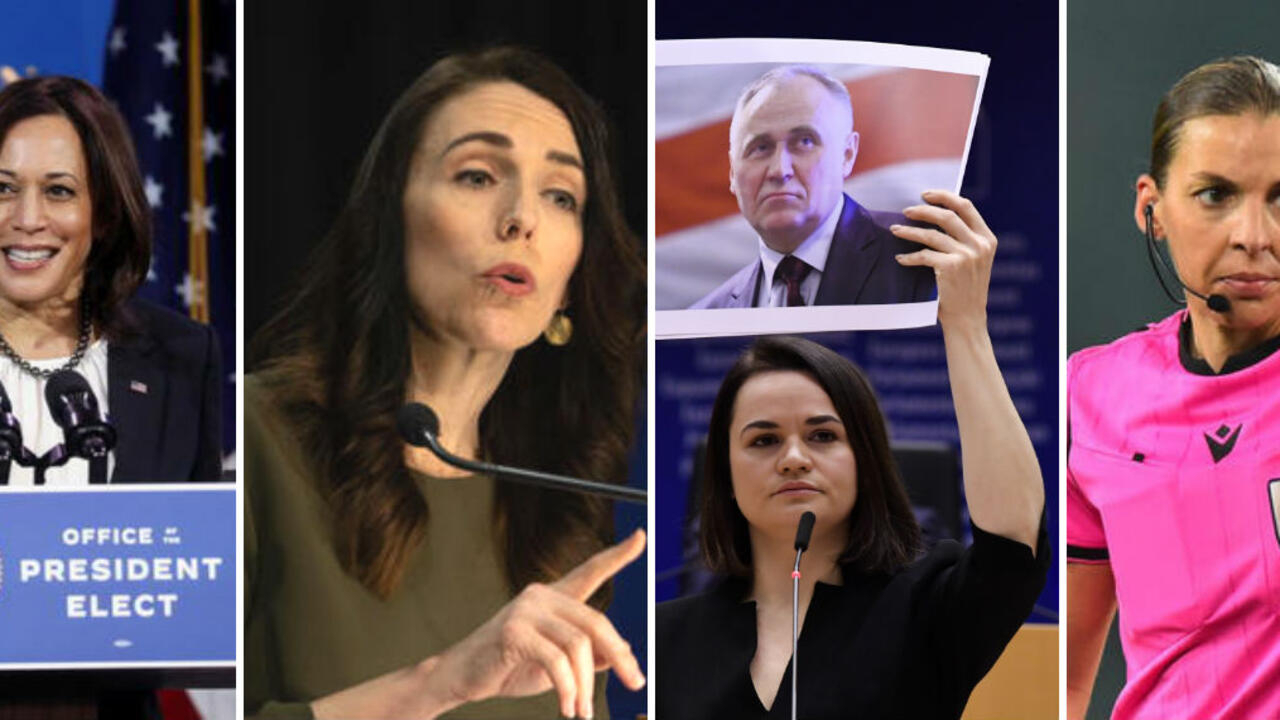 www.france24.com: 12 women who blazed trails or took a stand in 2020