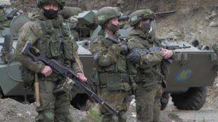 NAGORNO-KARABAKH RUSSIAN PEACEKEEPERS