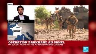 """2020-07-23 20:01 Mort du militaire français tué au Mali : """"il y a de nombreux groupes islamistes dans cette région"""""""