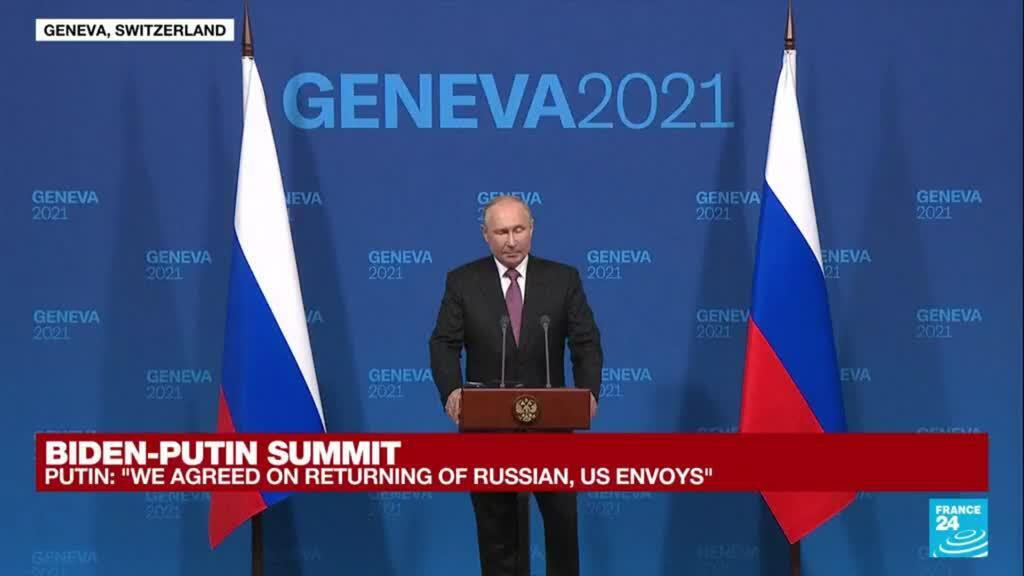 2021-06-16 17:48 REPLAY: Vladimir Putin holds news conference after meeting with Biden