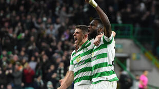 Celtic have won a record-equalling ninth Scottish Premiership title in a row