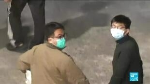 2020-12-02 12:07 Hong Kong : prison ferme pour trois figures du mouvement pro-démocratie