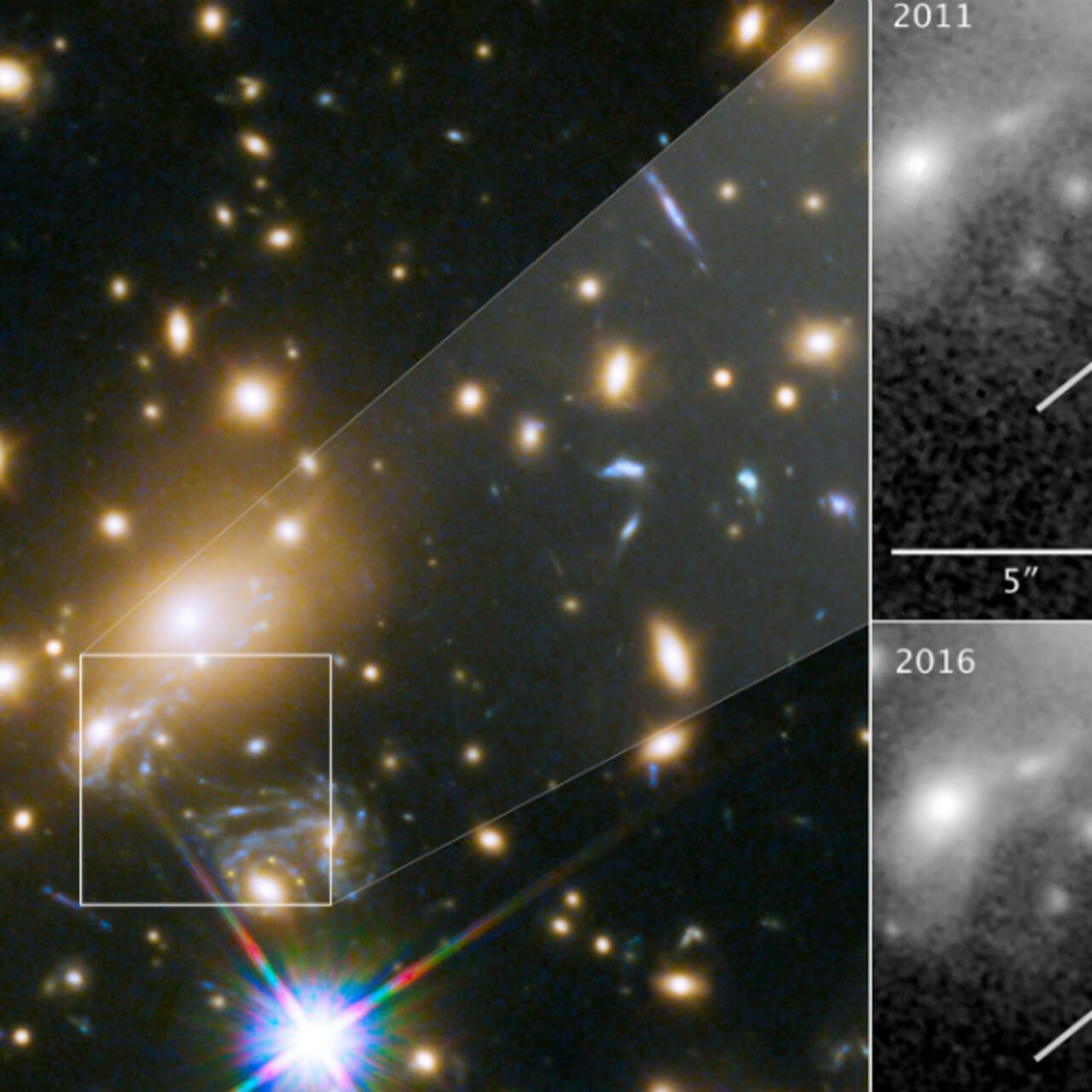 Equipo de la NASA descubre la estrella más lejana jamás detectada