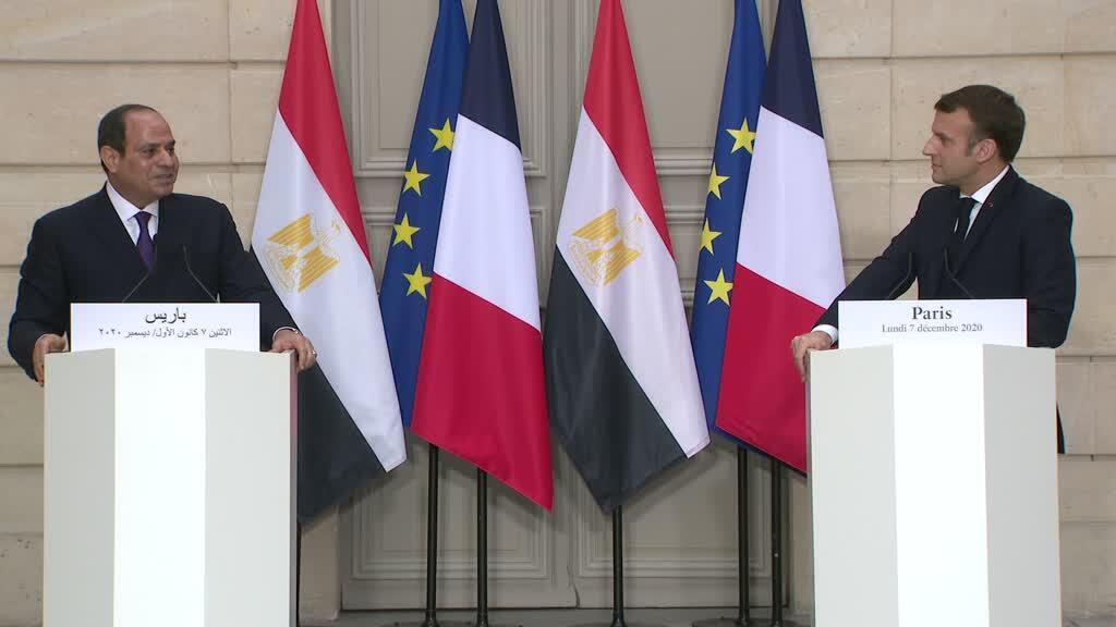 Macron al-Sisi