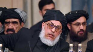 Mohammad Abbas Stanikzai, porte-parole des Taliban, photographié à Moscou, le 5 février 2019.