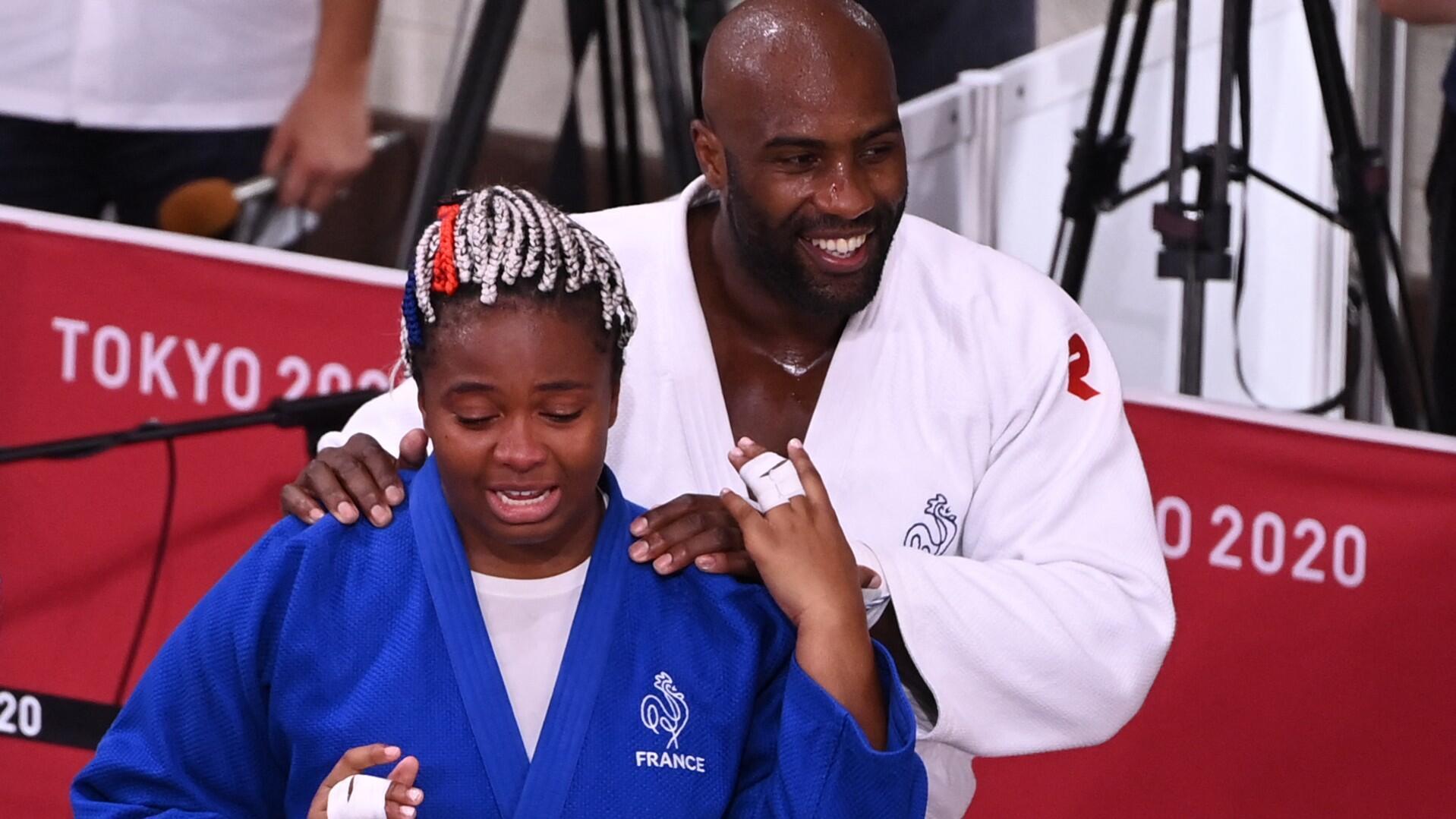 Teddy Riner Romane Dicko judo jo tokyo